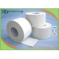 Quality 3.8cm Athletic Rayon Elastoplast Rigid Strapping Tape , Colored White Sports Tape wholesale