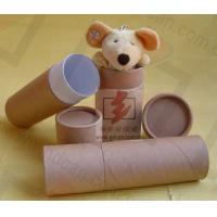 Quality Luxury Kraft Paper Cans Packaging Wine Bottle Presentation Box wholesale