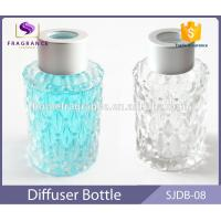 Quality 40 ml Round Glass Reed Diffuser Bottles Mason Jars With Color Painted wholesale