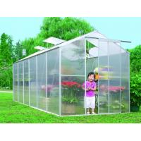 Quality Waterproof UV Polycarbonate Sheet Compact Walk In Greenhouse For Backyard / Garden Vegetable wholesale