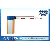 Quality Single Bar Manual Release Electric Barrier Gate With 180 Degree Folding Arm wholesale