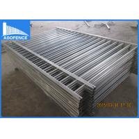 Flat Top Steel Panel Fence Powder Coated With Hot Dipped Galvanized Material