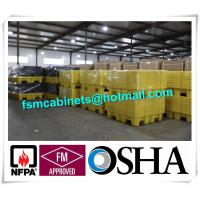 Quality 4 Drum HDPE Spill Pallet Poly Spill Pallet, Drum Spill Containments pallet for Oil Tank wholesale
