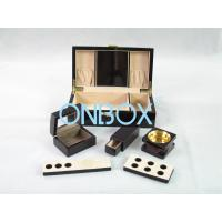 Cheap Painted Wooden Boxes Packaging For Aromer Burner Set , Women Perfume Gift Sets for sale