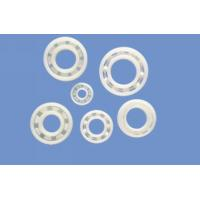 Anti Alkali / Anti Acid UPE Plastic Plain Bearings With Glass Stainless Or Ceramic Balls