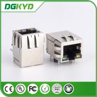 single Port 10 / 100 base RJ45 with Transformer Female connector Modules