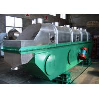 Quality ZLG Series Vibrating Fluid Bed Dryer FBD Continuous Type For Granules Drying wholesale