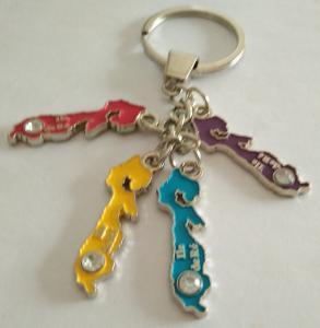 Best Promotion & wholesale custom souvenirs & tourism zinc alloy keychainmetal keychain, custom key chain wholesale