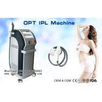 Quality Vertical E-Light IPL Beauty Machine For Hair Removal , Vascular Removal , Acne Treatment wholesale