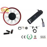 Quality Durable Fat Tire Electric Bike Conversion Kit With Axle Front 135mm / Rear 170mm wholesale