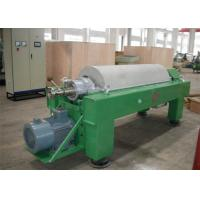 Quality Tricanter Centrifuge / Horizontal Decanter Centrifuge For Water Solid Oil Separation wholesale