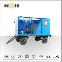 Transformer Oil Centrifuge Machine , Double Stage High Vacuum Oil Filter Machine