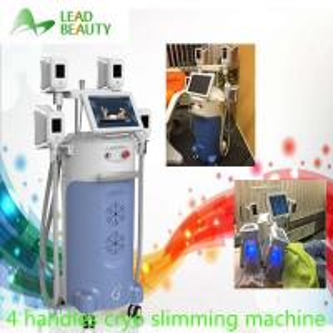 Cryo slim freezer cryotherapy cool shape with 4 handles cryo fat freezing machine