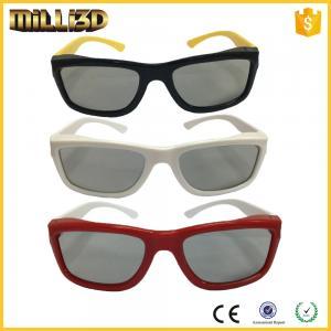 Best polarized custom real d plastic passive 3d glasses for cinemas wholesale