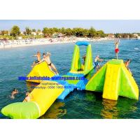 Best Custom Huge Adults / Kids Inflatable Water Park 0.9Mm PVC Tarpaulin Material wholesale