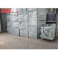 Floor Support Steel Shoring Posts Temporary Props Construction Long Life Span