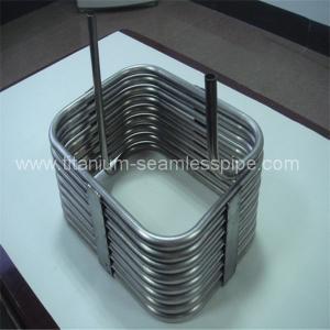 square type Stainless steel evaporator/square type titanium coil for evaporator