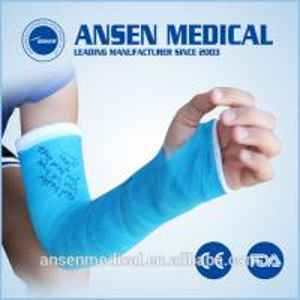 Medical Dressings Orthopedic Casting Tape Colored Fiberglass Casting Bandage