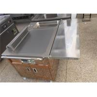 Quality Electric / Gas Heating Teppanyaki Grill Table for Restaurant Hotel wholesale