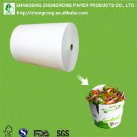 Quality PE coated paper for salad packaging box wholesale