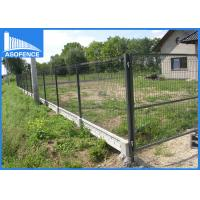 Nylofor Triangle Heavy Duty Fence Panels With Bends , Galvanized Wire