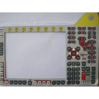 Light Weight PET / PC Keypad Membrane Switch Overlay For Medical Equipment