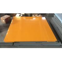 Hot Galvanized Carbon Steel Floor Weighing Scales 1.5x1.5m 3t / 5t Single Deck