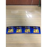 Quality Blue Aluminium Foil Packaging Bags Glossy Colorful Printing Three Side Seal Foil Toys Bag wholesale