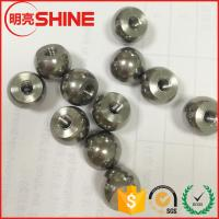 Best China manufacturing good quality 12mm carbon steel ball with blind hole screw wholesale