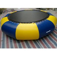 Quality Outdoor 0.9mm Pvc Tarpaulin Inflatable Watertrampoline For Water Sports Game wholesale