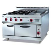 Best Commercial Stainless Gas Range With Griddle wholesale