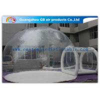 Best Transparent PVC Inflatable Lawn Tent Bubble Clear Dome Tent for Camping wholesale