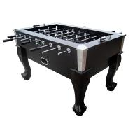 Full Size Foosball Table With Metal Corner , Foosball Soccer Table For Entertainment