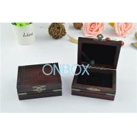 Quality Matt Painting Finish Ancient Style Wooden Display Box For Jewelry / Gift wholesale