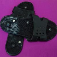 Quality  black silicone condutive electode for snap and pin ,silicone massage physiotherapy shoes wholesale