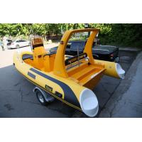 Best Deep - V Fiberglass Bottom Inflatable Boat 19 Ft With Customized Equipments wholesale