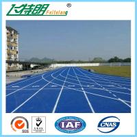 Best 13 MM Durable Athletic Running Track  Playground Surfaces Full PU Mixed Polyurethane Granules wholesale