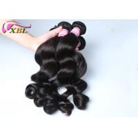 Quality Indian Virgin Soft Loose Hair Weave Double Layers Without Shedding wholesale