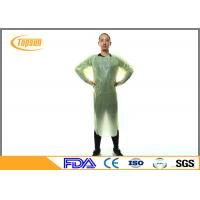 Sterile CPE Disposable Protective Clothing For Laboratory / Beauty Room