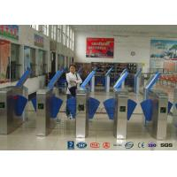 Quality Heavy Duty Industrial Speed Flap Barrier Turnstile For Handicap Channel wholesale
