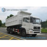 Buy cheap Load capacity 40 T Dongfeng 6x4 Heavy Dump Truck cummins engine 375hp from wholesalers
