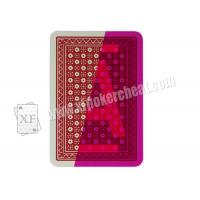 Quality Magic Show Invisible Playing Cards  , Italy Modiano Poker Cards Ramino Super Fiori wholesale