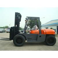 Quality 2 Stage / 3 Stage Mast Forklift , Diesel Engine Forklift Truck FD100 2000 Working Hours wholesale