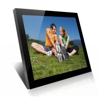 Quality Acrylic 19 Inch High Resolution Digital Picture Frame With Clock And Calendar wholesale