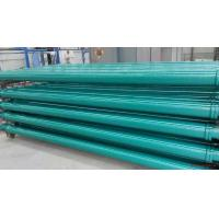 ST52 Concrete Pump Pipes , Concrete Delivery Pipes Powder Painted Baked Surface