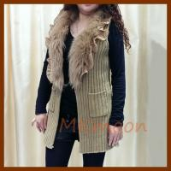 Cheap rabbit fur sweater sw210# for sale