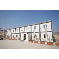 Quality Living Prefab Modular Home , Prefab Container Homes With PVC Sliding Window wholesale