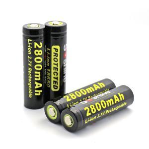 SOSHINE Brand 18650 Li-ion Battery Protected: 2800mAh 3.7V