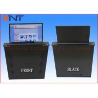 Motorized 15.6 Inch Touch Screen LCD Monitor Lift For Paperless Office System
