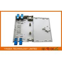 4 Fibers FTTH Optical Fiber Termination Box Pre - terminated With SC FC LC ST Adapter Pigtails